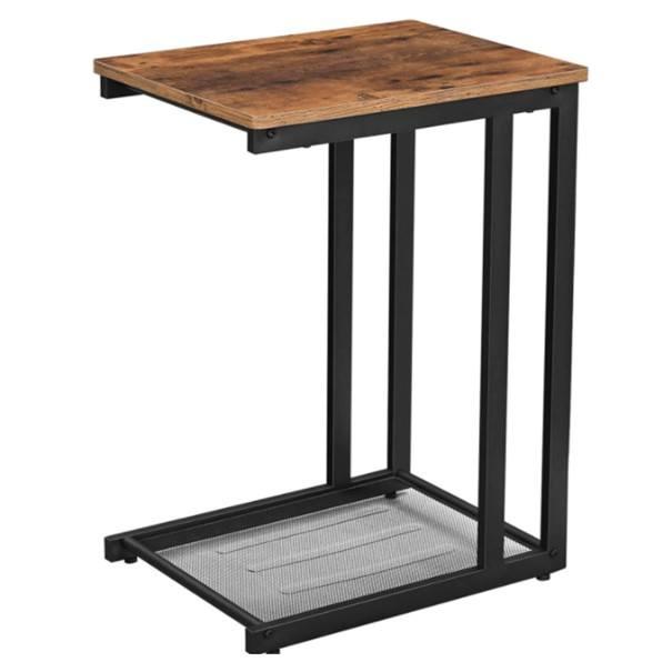 Přístavný stolek LNT51X hnědá/černá 1