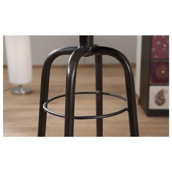 Barová židle LONDOS hnědá/černá 6