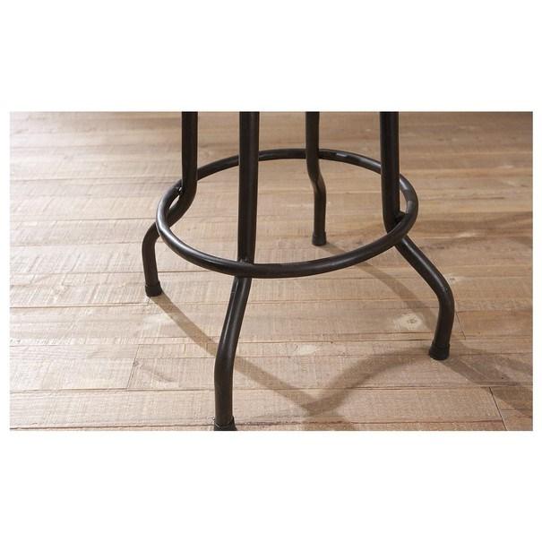 Barová židle LONDOS hnědá/černá 7