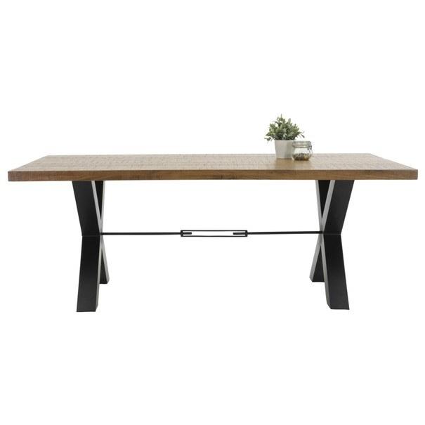 Jedálenský stôl LOTTE I T agát/čierna 2