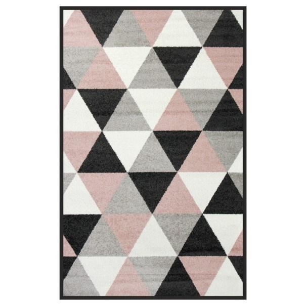 Sconto Koberec LOTTO 8 trojúhelníkový vzor, 100x150 cm - nábytek SCONTO nábytek.cz