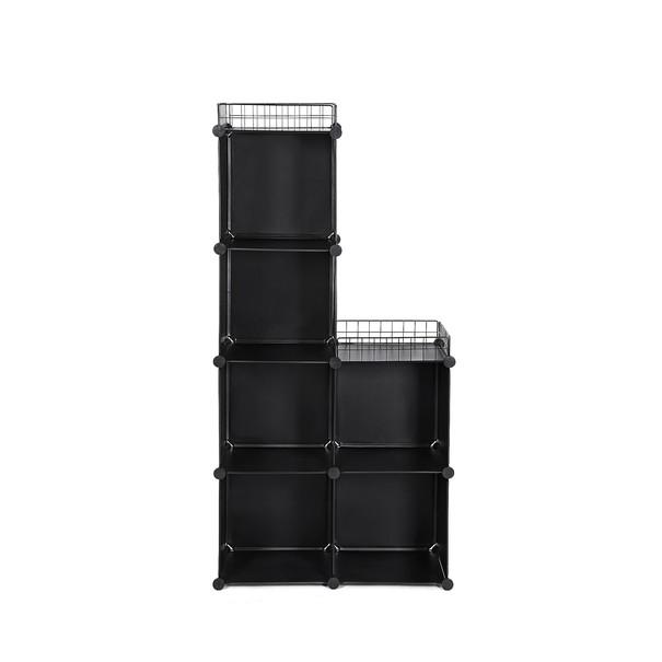 Úložný plastový organizér LPC112 čierna 29