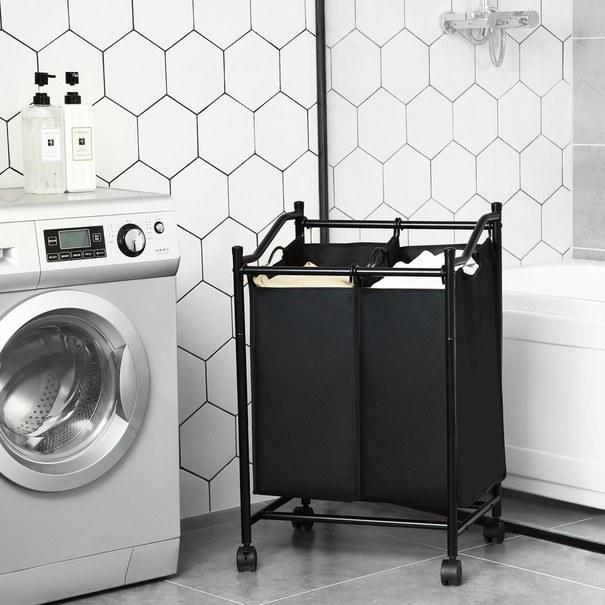 Koš na prádlo LSF002 černá 2