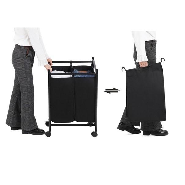 Koš na prádlo LSF002 černá 4
