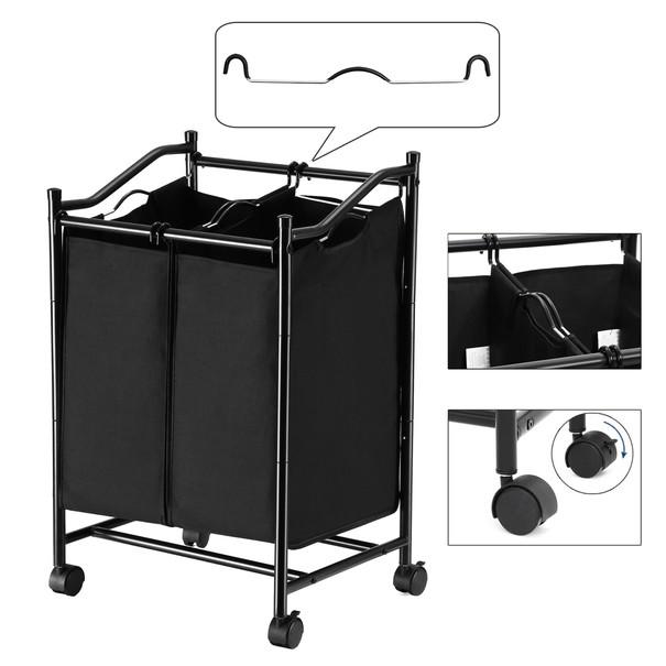 Koš na prádlo LSF002 černá 5