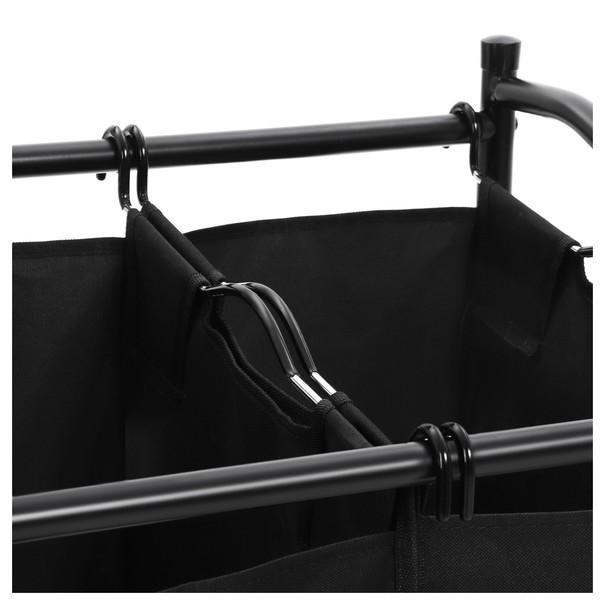 Koš na prádlo LSF002 černá 8