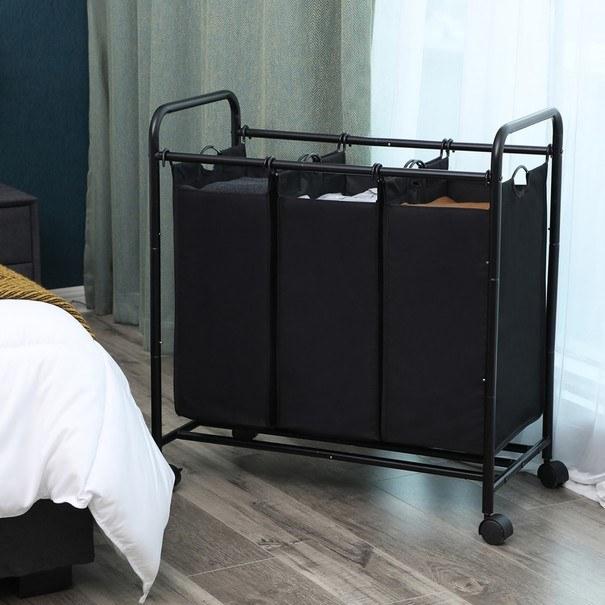 Koš na prádlo LSF003 černá 4