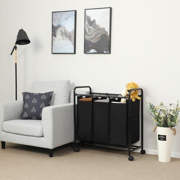 Koš na prádlo LSF003 černá 5
