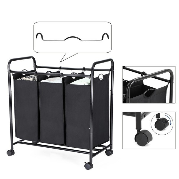Koš na prádlo LSF003 černá 11