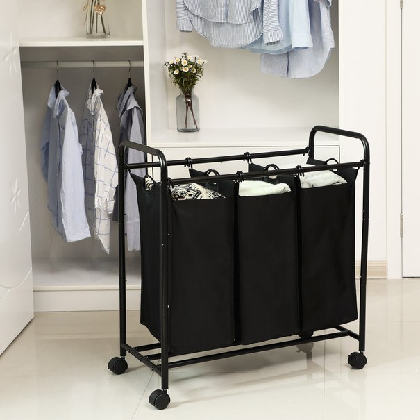 Koš na prádlo LSF003 černá 13