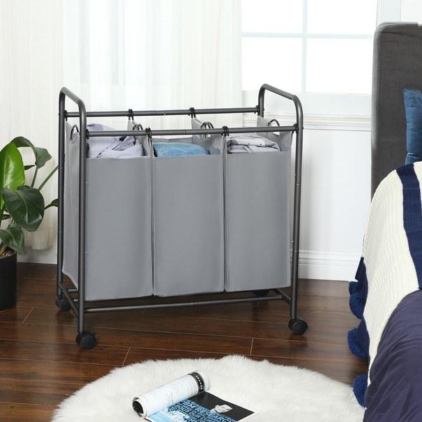 Koš na prádlo LSF003 šedá 7