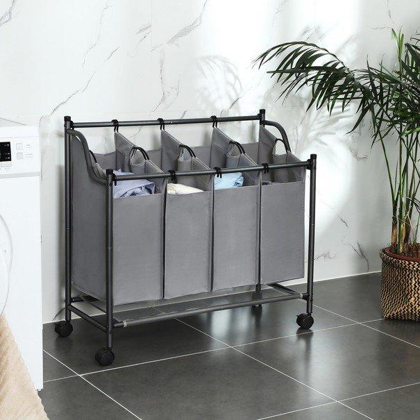 Koš na prádlo LSF005 šedá 2