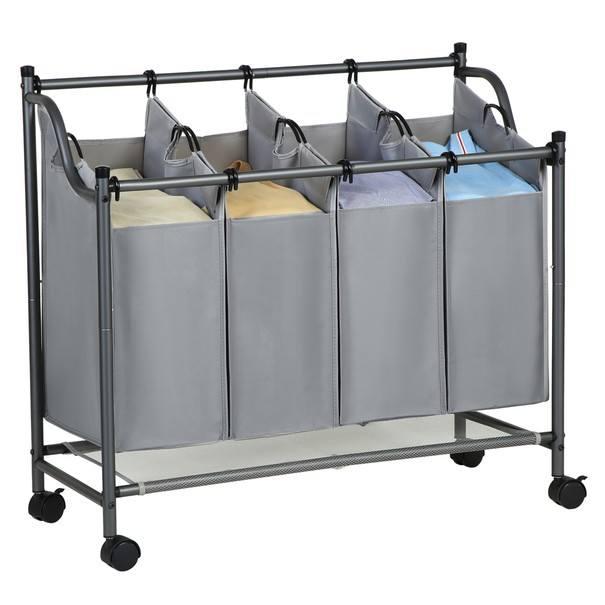 Koš na prádlo LSF005 šedá 5