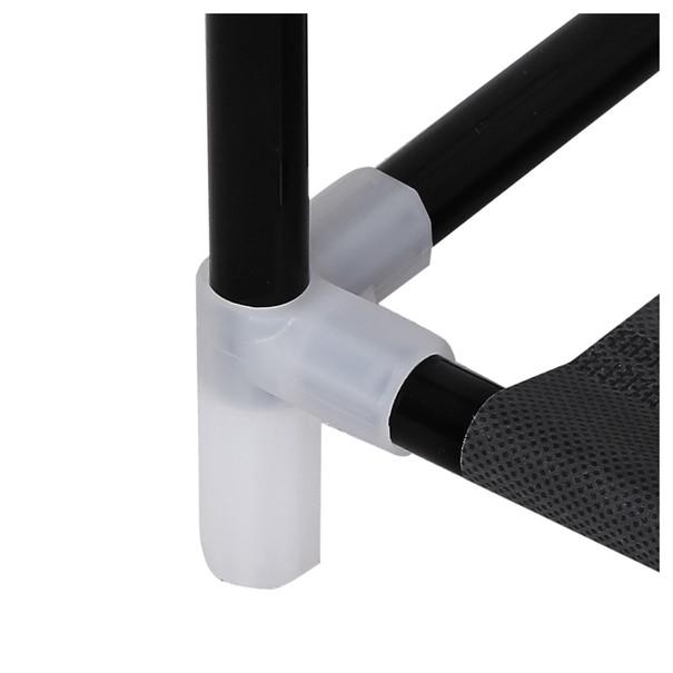 Látková šatní skříň LSF007 černá 16