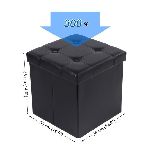 Taburet LSF30 černá 8