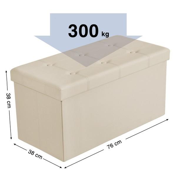Lavice LSF40 béžová 8