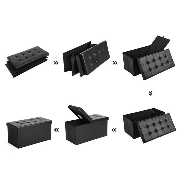 Lavice LSF45 černá 3