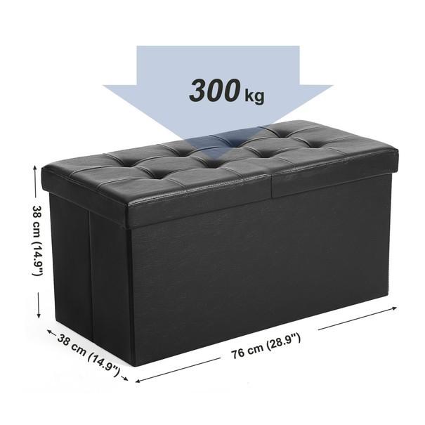 Lavice LSF45 černá 9