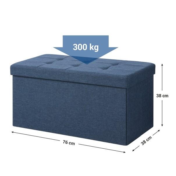 Lavice LSF47 tmavě modrá 9