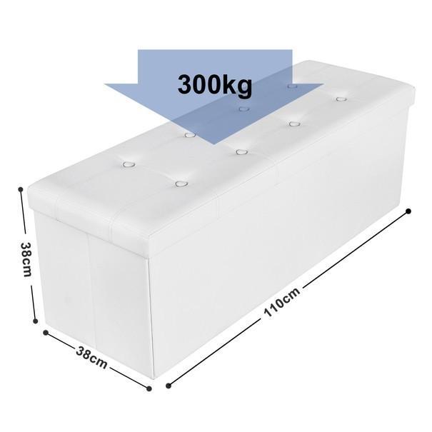 Lavice LSF70 bílá 10