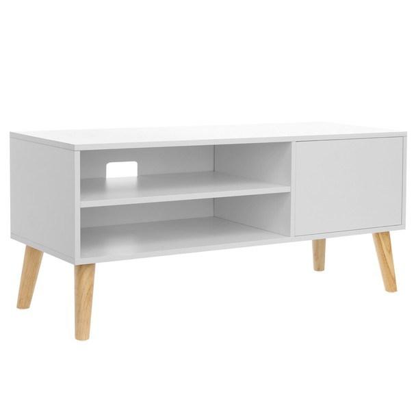 Sconto TV stolík LTV09WT dub/biela