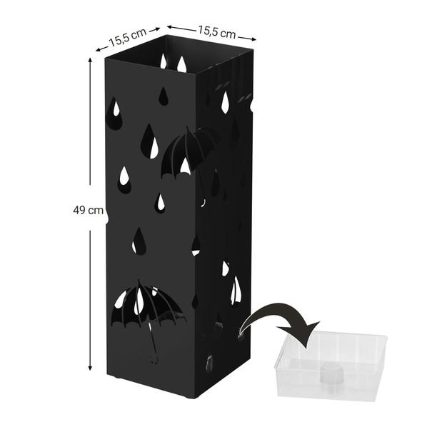 Stojan na deštníky LUC49 černá 5