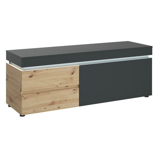 Sconto TV komoda LUCI dub artisan/sivá, 150 cm