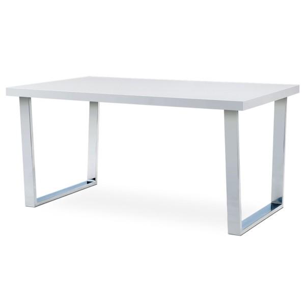Sconto Jedálenský stôl LUIS biely, šírka 150 cm