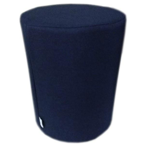 Taburet LUX tmavě modrá 1
