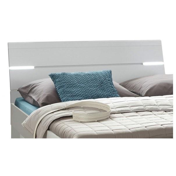 Postel s nočními stolky MAESTRO bílá, 180x200 cm 3