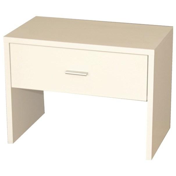 Odkládací stolek MAJA bílá 1