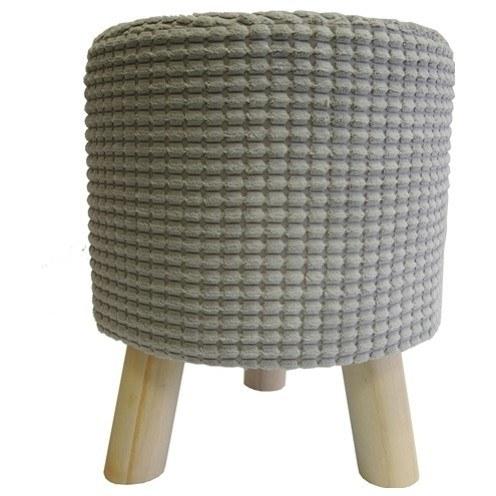 Stolička MANDY 2 šedá 1