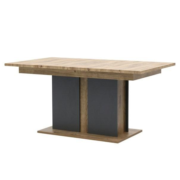 Jídelní stůl MANHATTAN dub havelland cognac/grafit 1