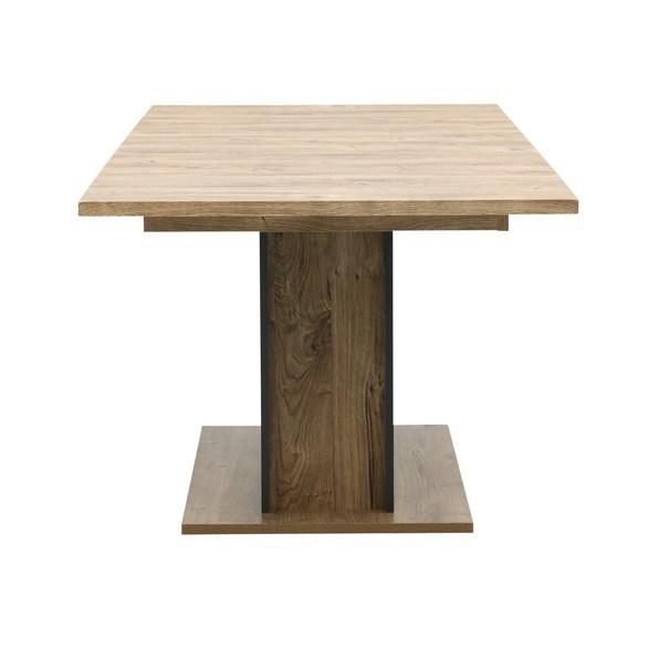 Jídelní stůl MANHATTAN dub havelland cognac/grafit 4