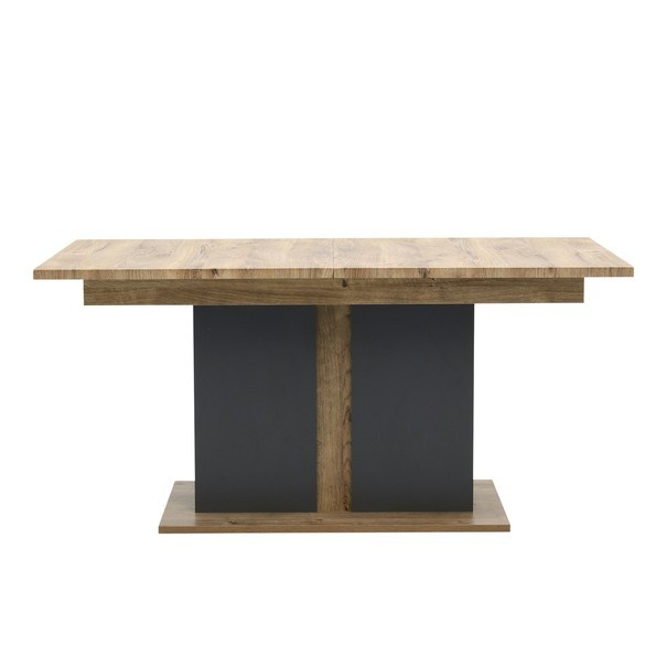 Jídelní stůl MANHATTAN dub havelland cognac/grafit 5