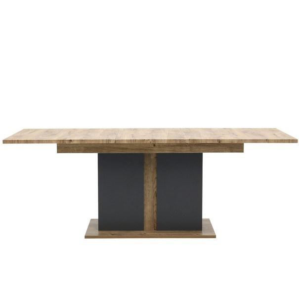 Jídelní stůl MANHATTAN dub havelland cognac/grafit 6