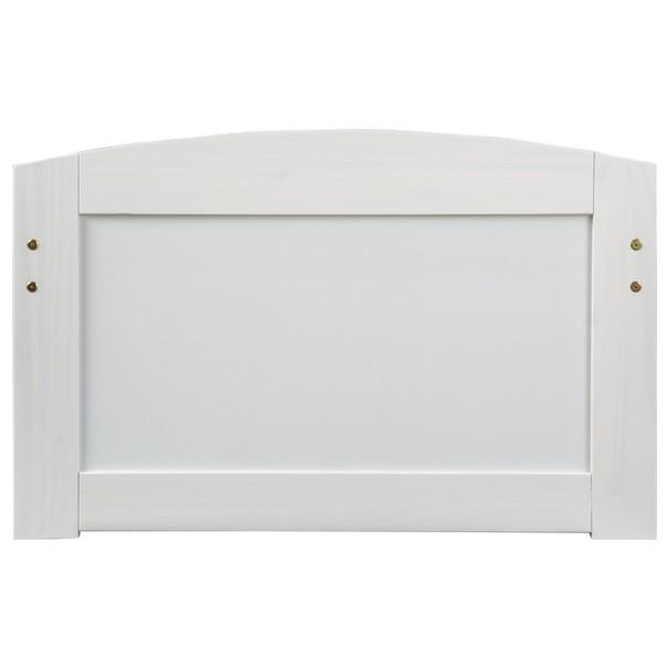 Postel s výsuvným lůžkem MARULLA bílá, 90x200 cm 7