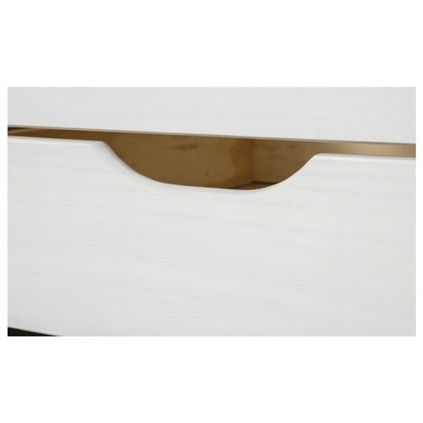 Postel s výsuvným lůžkem MARULLA bílá, 90x200 cm 10