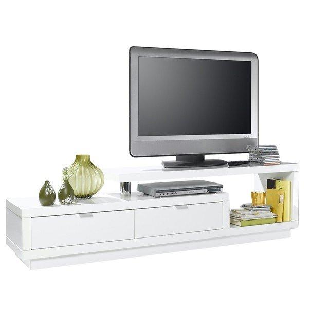 TV stolík MEDIBA III biela 1