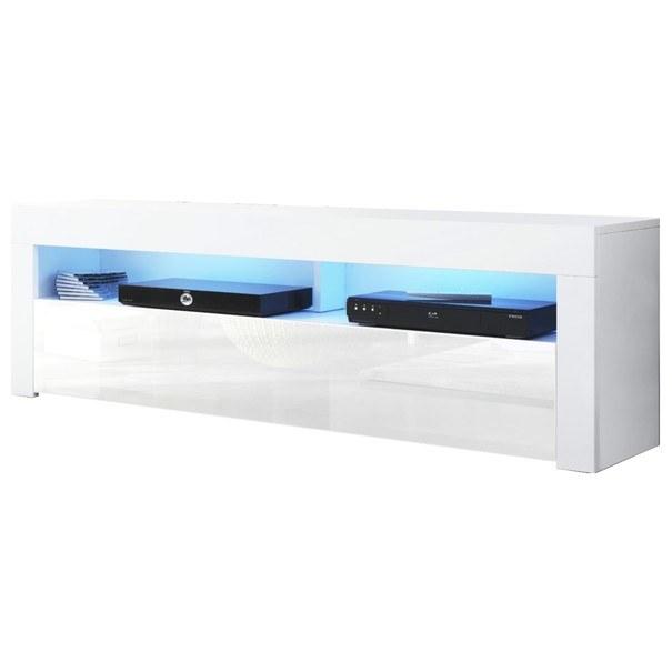 TV stolek MEX 140 bílá 1