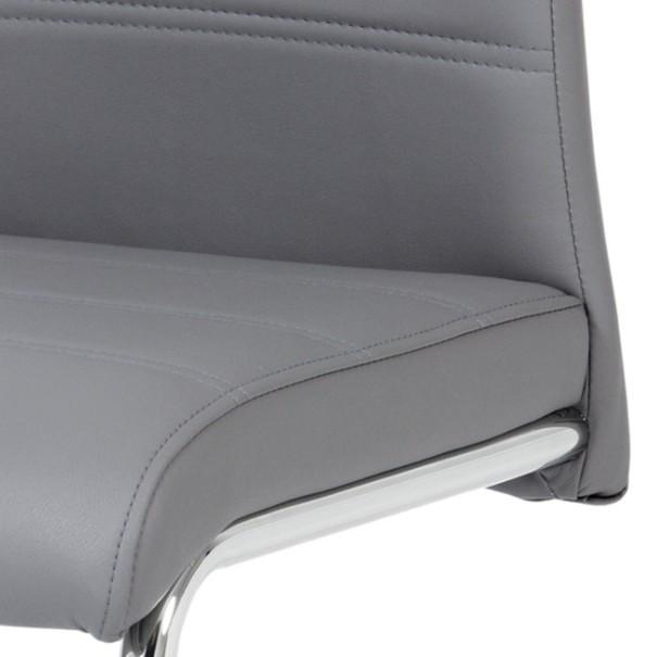 Jedálenská stolička MIA sivá 2