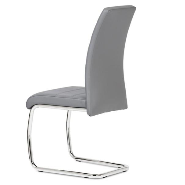 Jedálenská stolička MIA sivá 4