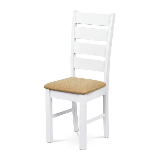 Jídelní židle MICHALA 1 bílá/písková 1