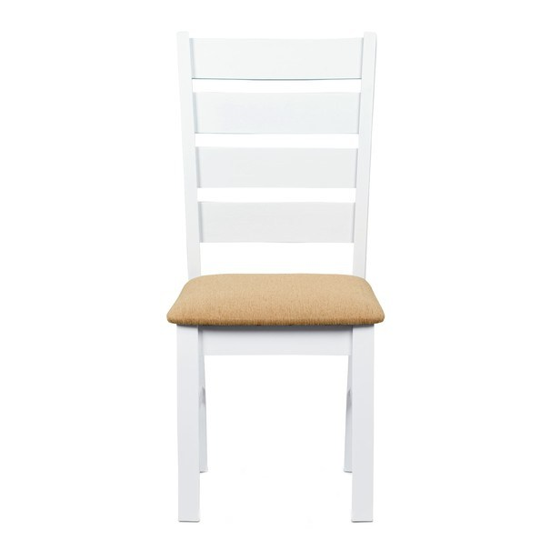 Jídelní židle MICHALA 1 bílá/písková 2