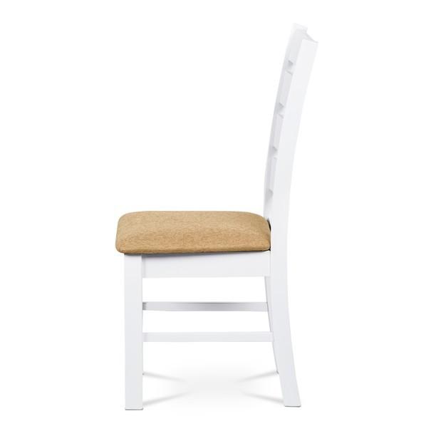 Jídelní židle MICHALA 1 bílá/písková 3