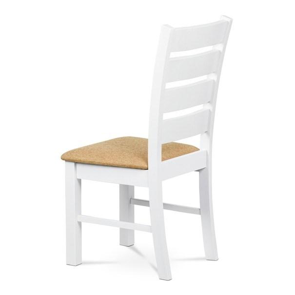 Jídelní židle MICHALA 1 bílá/písková 4