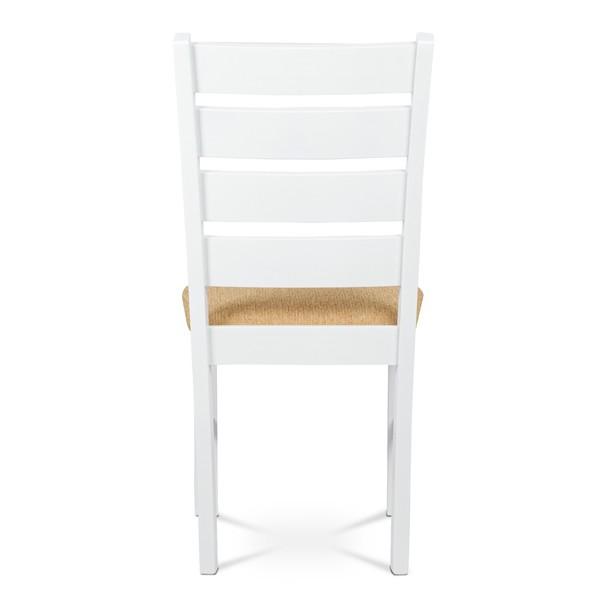 Jídelní židle MICHALA 1 bílá/písková 5