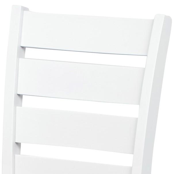 Jídelní židle MICHALA 1 bílá/písková 6