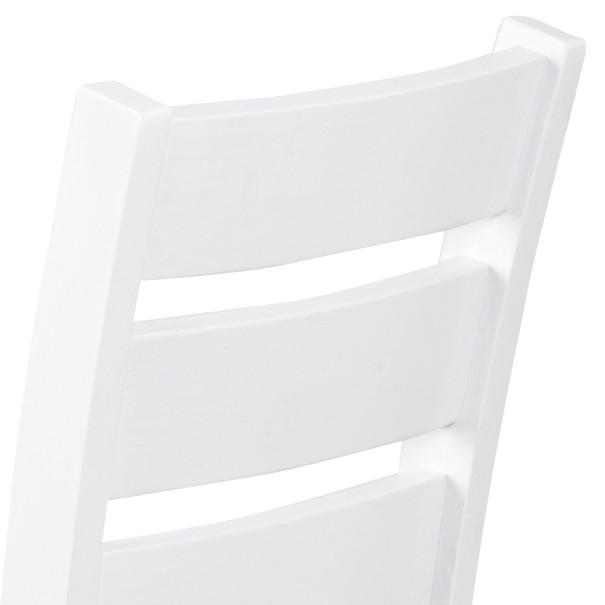 Jídelní židle MICHALA 1 bílá/písková 7