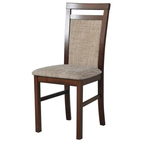 Jedálenská stolička MILAN 5 hnedá/béžová 1